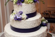 Pretty special wedding cakes