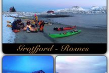 Northern kayaking / Kayaking in Northern Norway is fab