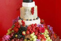 Wedding cakes / Inspiration for your wedding cake. Cheese, biscuit, sponge, chocolate, cream, fruit....loads of different ideas