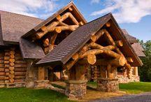 Log homes / by Lloyd Canady