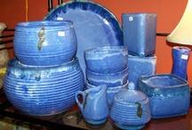 China, plates, pottery, etc