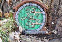 Technika - tündérajtó (Fairy Doors)