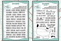 50 States / State themed stamps for stamping http://jadedblossomstamps.com/index.php#.V4kDYaJptu4