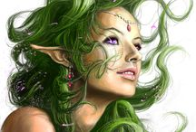 Elf • Wood • Female