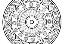 Colouring pages to love ;)