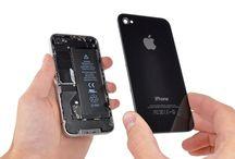 Sustitución del panel trasero del iPhone 4 / Para sustituir el panel trasero del iPhone 4, siga los pasos siguientes.