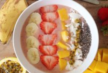 Smoothie Bowls / Deliciously healthy! Smoothie bowl recipes and inspiration.  / by Hiccups and Sunshine