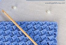 Crochet and knitting