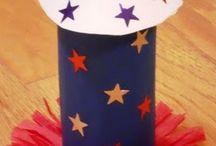 Kids Crafts: Fourth of July