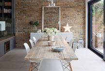 Dining Room inspiration | Home and Interiors / Inspiration for a dining room to wow your guests, cozy, stylish, trendy entertainment spaces for dining and celebration rooms