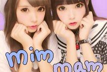 mimmam / Zipper専属モデル リアル双子