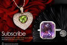 Lucky Draw / By subscribing, you can be eligible to win valuable Jewellery from Federal Auction Service