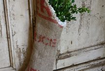 burlap anyone? / what's not to love about burlap? / by inspired (vintage.home.design)