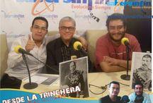 Programa de Radio Desde la Trinchera / Primer Programa de radio dedicado a la historia militar en México. Escúchanos en http://guntherprienmilitaria.com.mx/desdelatrinchera.html