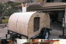 Homemade campers