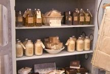 Bath products display