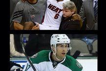 NBA, NHL, GOLF