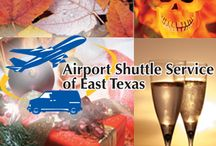 Announcements / Announcements, at Airport Shuttle Service of East Texas