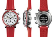 Shinola Watches / Shinola was conceived in 2011 with the belief that products should be made by hand and built to last. As makers of modern, men's watches and women's watches, bicycles, leather goods, and journals they stand for skill at scale, the preservation of craft and the beauty of industry.