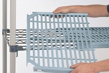 MetroMax Q / Epoxy Coated Steel Posts and Shelf Frames     Removable Shelf Mats     Microban Antimicrobial Product Protection     15 year Warranty against Corrosion