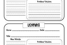 Auditory tasks