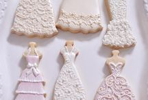 bridal shower cake and cookie ideas