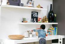 Escritorios y mesas para niños / Escritorios y mesas para niños. Zonas para escribir, pintar y jugar!