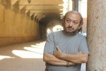 The italian actor Orfeo Orlando / Nelle foto alcuni momenti della storia artistica dell'attore Orfeo Orlando