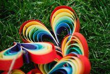Rainbow Stuff / by Elaine Black