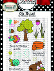 Oh Nuts!- Clear Stamps