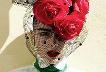 ヘア飾り、帽子