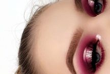 maquillaje rosa