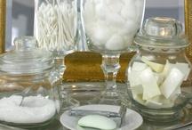 lidded apothecary jars