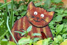 DIY Cardboard Crafts / DIY Cardboard Crafts, kids cardboard crafts, cardboard cat, cardboard cactus, cardboard bird