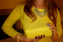 Citrus Yellow OOTD / by Miss S-a Headbands