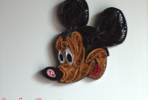 Disney quilling and origami