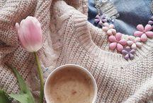 Кофе и вязание