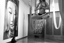 AntiGravity Aerial Yoga / A pose created by Founder Christopher Harrison when he visited Athens Greece @ All in Yoga Studio, owner Bessy Trigka