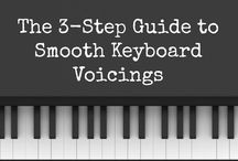 Playing Keyboard / Advice about chording, improvisation, and other techniques that work great in worship!