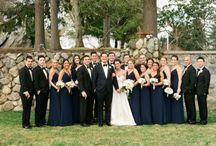 Navy and Black Weddings