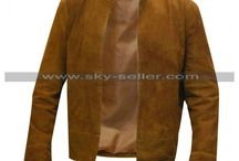 Colin Morgan Merlin Brown Suede Leather Jacket / Buy this sophisticated Merlin Colin Morgan Brown Suede Leather Jacket at most affordable price from Sky-Seller and avail free shipping.