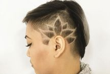 Designs for Shaved Hair