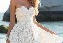 Hochzeitskleid Abend