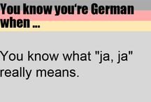 You know you're German when....