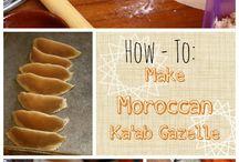 Morrocan cookies