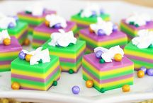 Mardi Gras Party Ideas / All our best recipes to help celebrate Fat Tuesday. From King Cakes to jelly shots, you'll find what you need to get the celebration started.