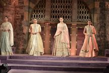 The Runway #MakeInMaharashtra / Showcasing The Wedding Diaries by Anita Dongre