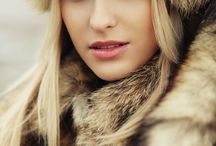 inspiration - winter portraits