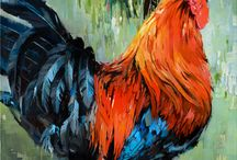Chicken art & illustrations