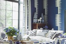Blue living room / by Alison Reid